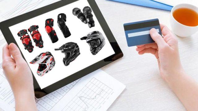 Achat d'équipement de motocross en ligne